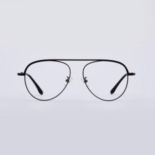 [텐바이텐] GARY grey 안경테 누진다초점렌즈 반테 그레이 알큰_(1962767)