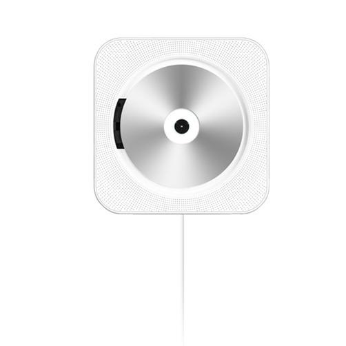 해외직구 아날로그 감성 벽걸이 CD 플레이어 무인양품st - 사각 CDP, 화이트, 사각CDP