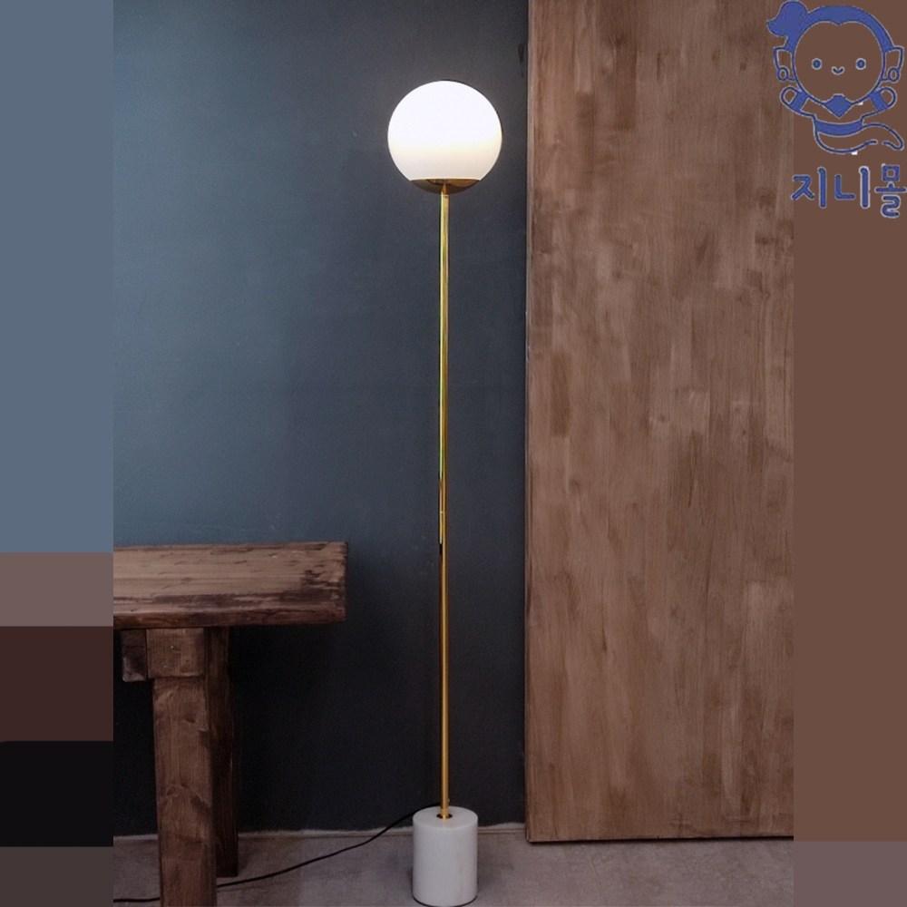 지니몰 침실 거실 화이트문 LED 모던 장스탠드 조명 무드등, 장스탠드(램프포함)