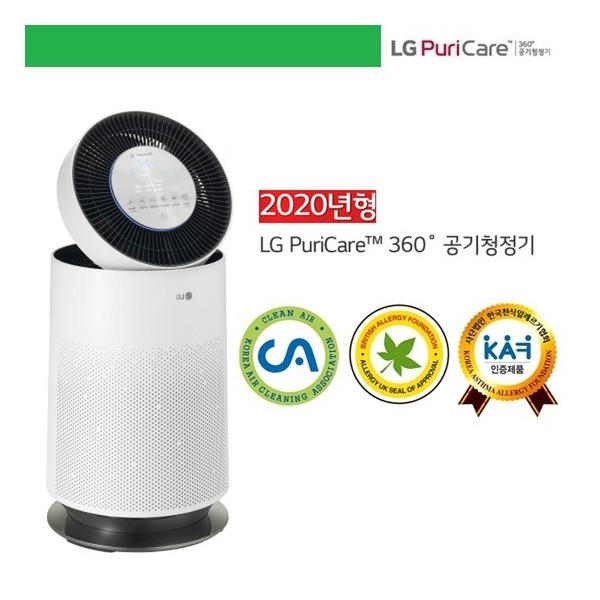 LG전자 (18형) 퓨리케어 360° 공기청정기 AS180DWFC 싱글부스터(59.4㎡), 단일상품
