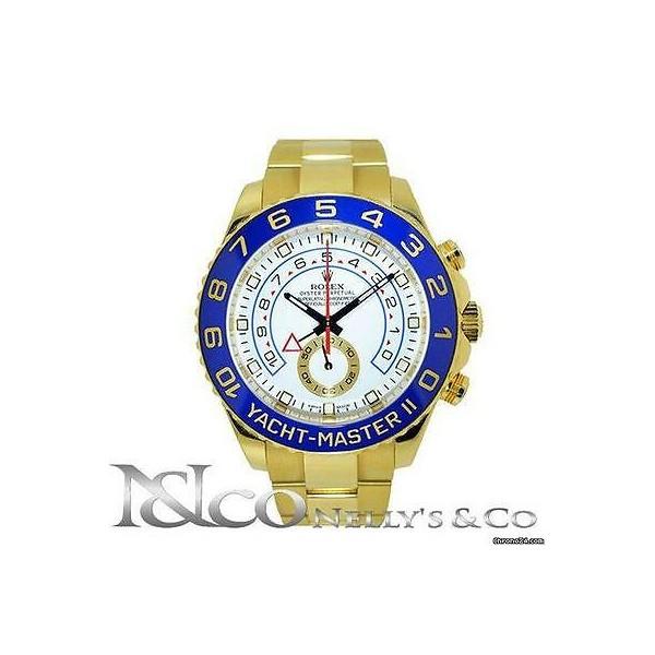 362706 롤렉스 Rolex Yacht 마스터 II - 18K Yellow Ceramic Bezel 남성용 시계 Ref 116688