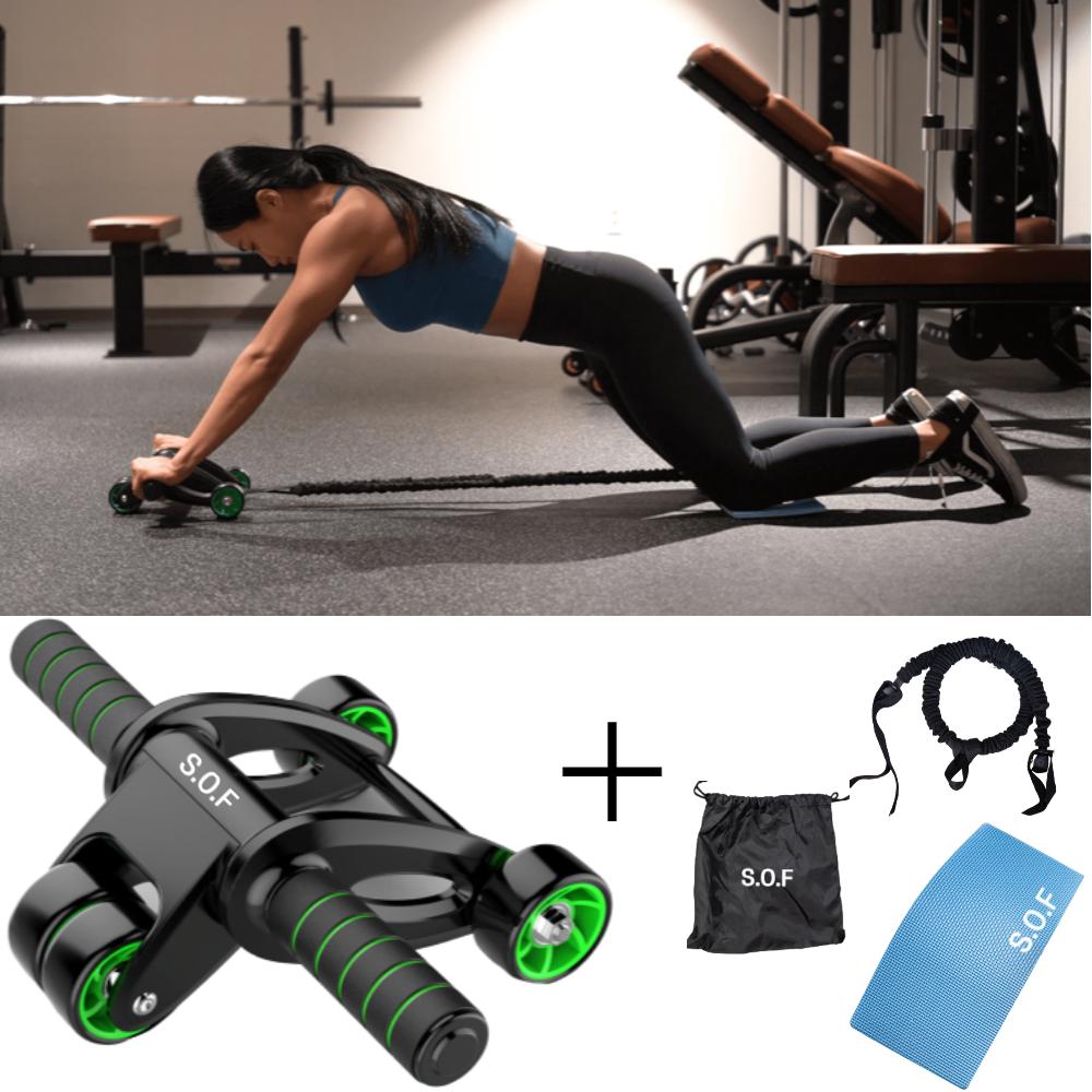 스케일온프 AB 슬라이드 휠 남자 여자 복근 뱃살 실내 코어 홈트레이닝 운동 기구 슬라이더 [단품 구매가능], 풀세트