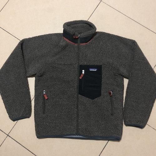 파타고니아 후리스 레트로X 자켓 남여공용 블랙