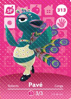 개별구매 닌텐도 동물의숲 오리지날 공식 아미보 카드 주민 1탄 2탄 3탄 4탄 튀어나와요 모여봐요 모동숲 튀동숲, 1개, 313