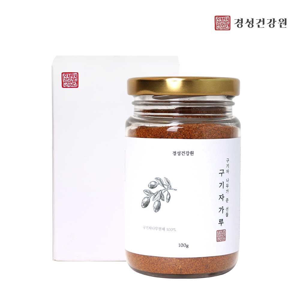 구기자가루 분말 100% 국산 구기자 나무열매 효능 비타민c 토마토 3.5배 베타인 베타카로틴 영양덩어리 동의보감 추천, 3Ea, 100g
