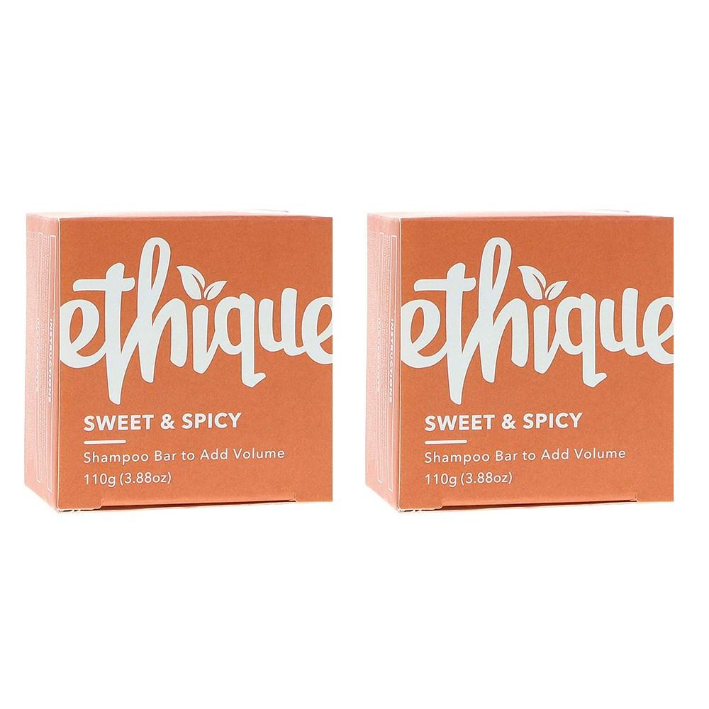 Ethique 친환경 고체 샴푸 바 sweet 3.9oz(110g)x2, 1개
