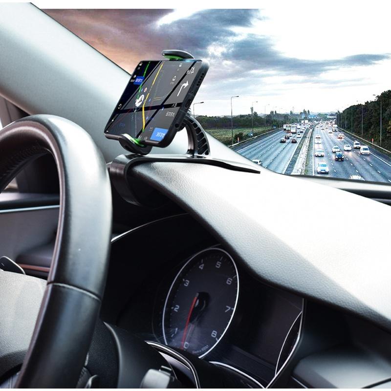인대쉬형모니터 수입 차량용 hud고개들기 모니터 자동차 통용 네비게이터 주행 기록 obd고개들기 기계자동차 스피드, T01-A스타일(가로집게 스타일)정시 지지대 각도 조절불가능