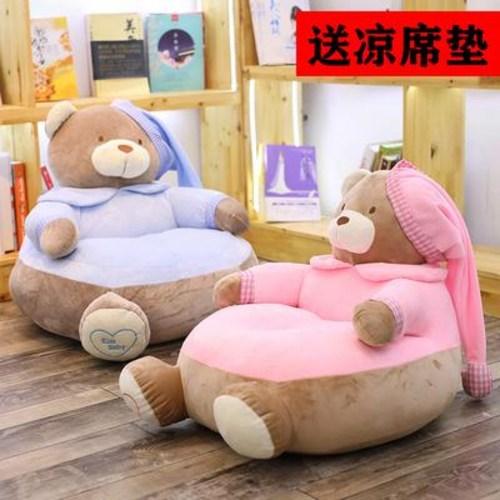 생활방수 기능성 소파 아기용 작은 시트 귀여운 아기 카드통 다다미 공주 독서 코너, 01 핑크 라지