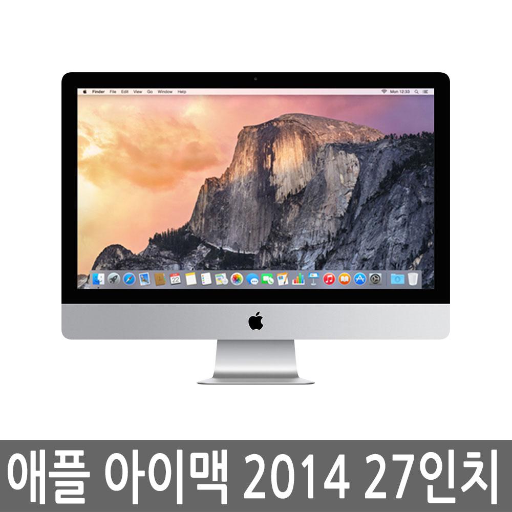 애플 아이맥 2014 27인치 5K i5/24GB/256GB 중고아이맥