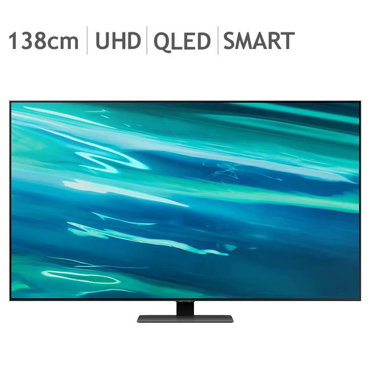 삼성 QLED QA80 TV KQ55QA80AFXKR 138cm (55), 벽걸이 (POP 5648990659)