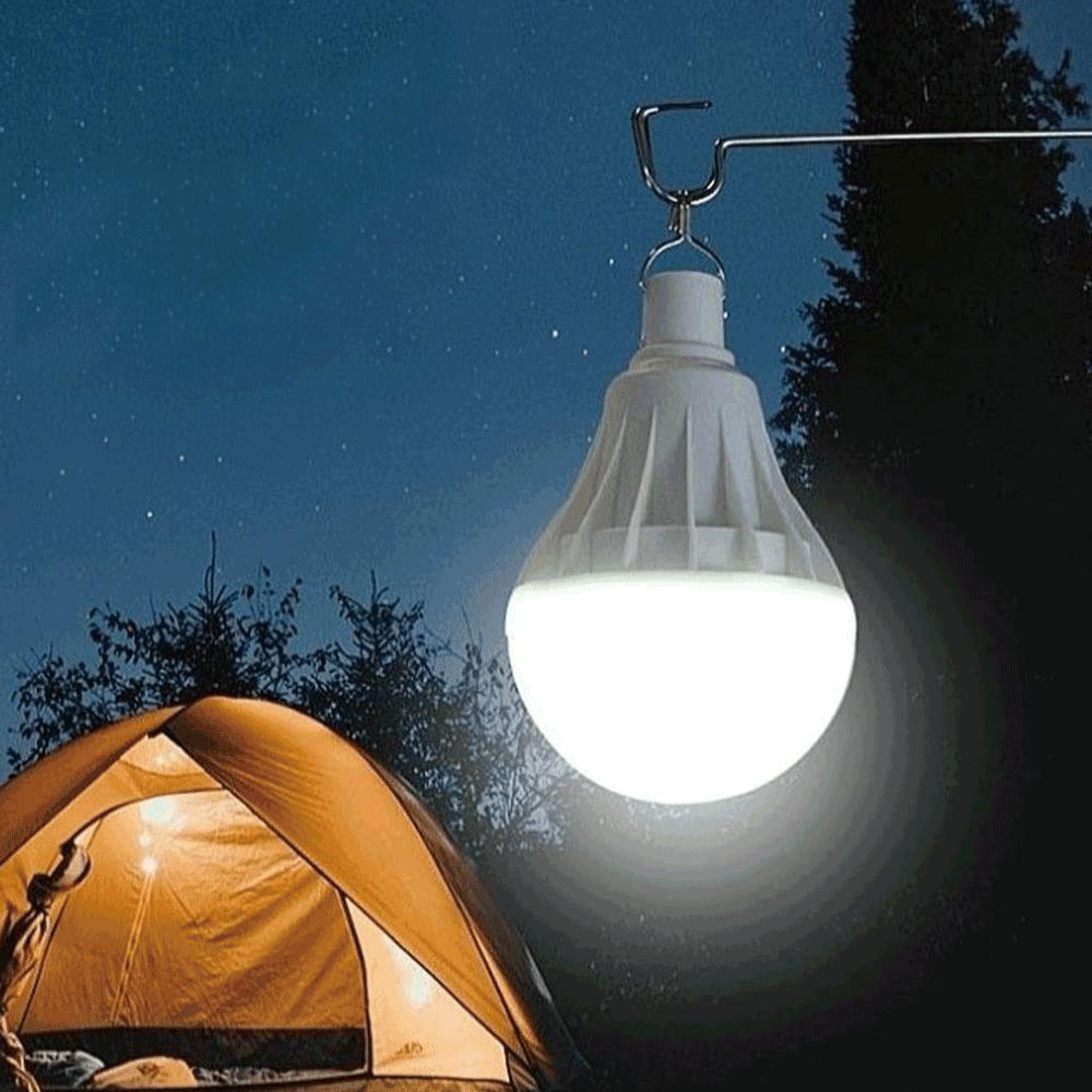 #플래닛 충전식 전구형 led 랜턴 야외 작업등 캠핑 전등, 1개