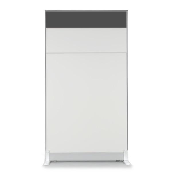 더인파티션 45T PVC 컬러 파티션 사무실 파티션/사무용 칸막이, 높이1800파티션-돌그레이(PCPG-DW)