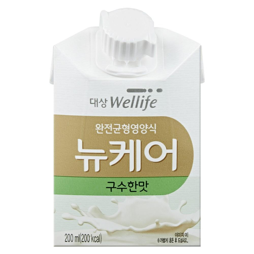 대상웰라이프 뉴케어 구수한맛 30팩 아셉틱팩 멸균팩 환자영양식 균형영양, 200ml, 200ml