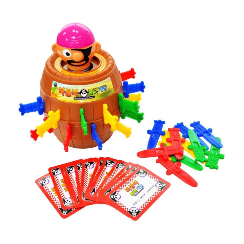 스릴 넘치는 복불복 룰렛 해적통 놀이장난감 아이들선물 초등학교2학년선물
