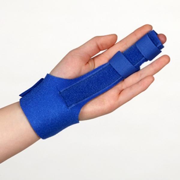 OH-708 손가락보호대 손가락부목 손가락깁스 손가락아대 손가락지지대, 파랑색 (POP 4718111905)
