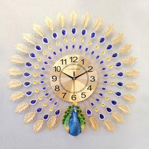 캐주얼 벽시계 가정용 공작 아이디어 정은 시계(옵션5)