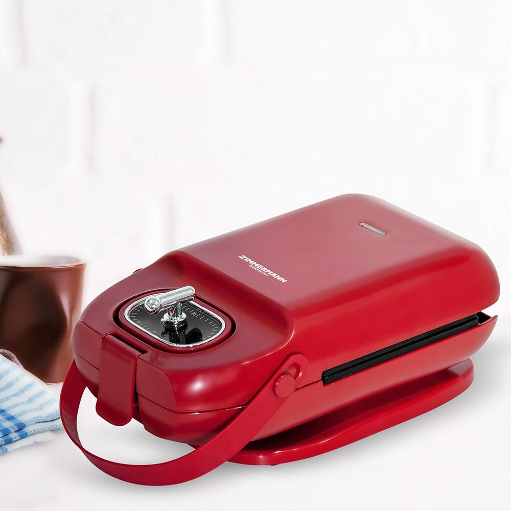 휴앤봇 와플메이커 ZM400R 토스트기 샌드위치 와플팬 크로플팬