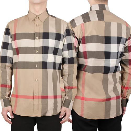 버버리 [버버리] 21FW 체크 스트레치 셔츠 (8010213)-5-1695942925