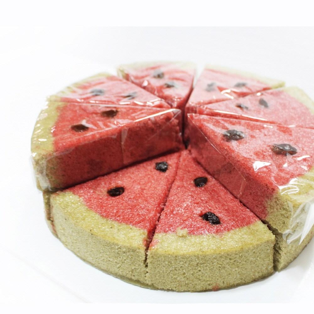 (주)예맛떡 [여름기획상품Best]수박바 설기떡케이크2호(아이스&전국배송), 1개, 1kg