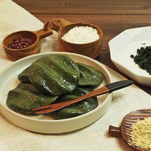 착한떡 제주해풍 쑥개떡 1kg + 1kg / 개별포장떡, 단일상품, 단일상품