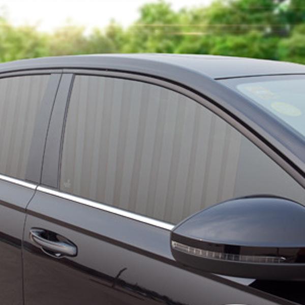 차량용커튼 자동차햇빛가리개 커텐 내장용품 앞좌석커튼 뒷자석커튼 블랙 베이지, 앞좌석커튼(블랙)