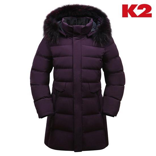K2 케이투 여성 앨리스 골드 구스 다운 바이올렛