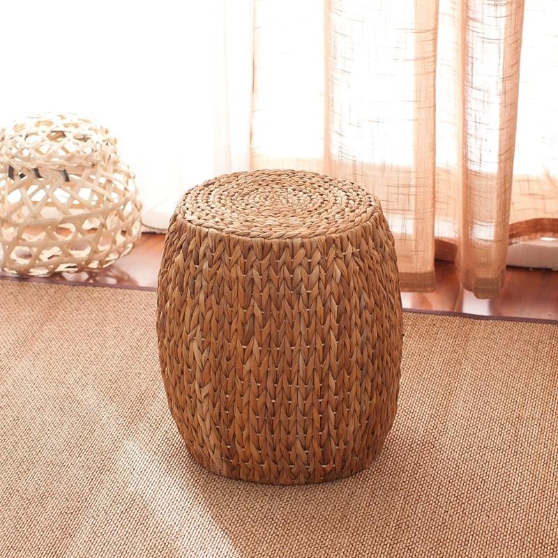 라탄의자 미니 원형라탄의자 라탄스툴 밀짚 등나무 인테리어의자, 선택3