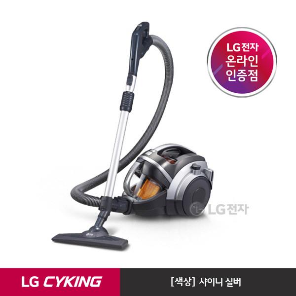 [LG전자] [택배발송] 슈퍼 싸이킹lll 주니어 청소기 K73SG (샤이니 실버/트윈 싸, 상세 설명 참조