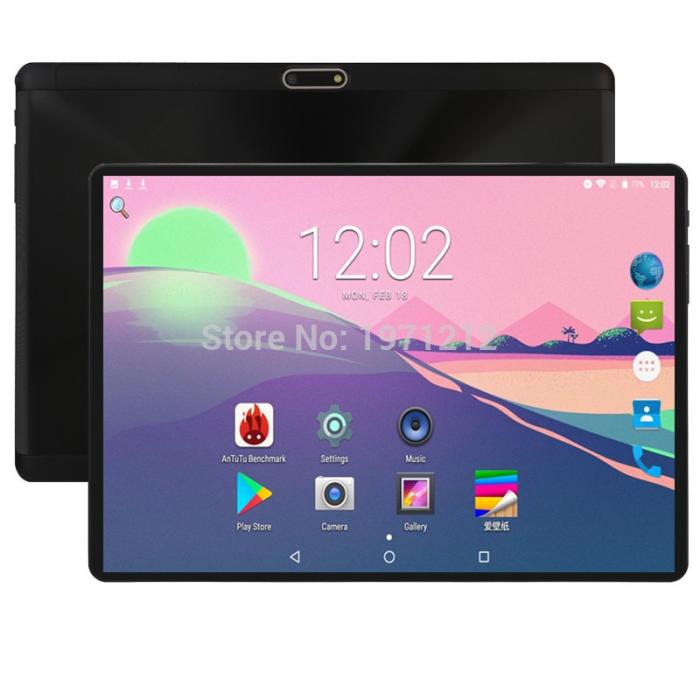 태블릿PC2019 Newest Google Play Store Android 8 OneSize Black 193
