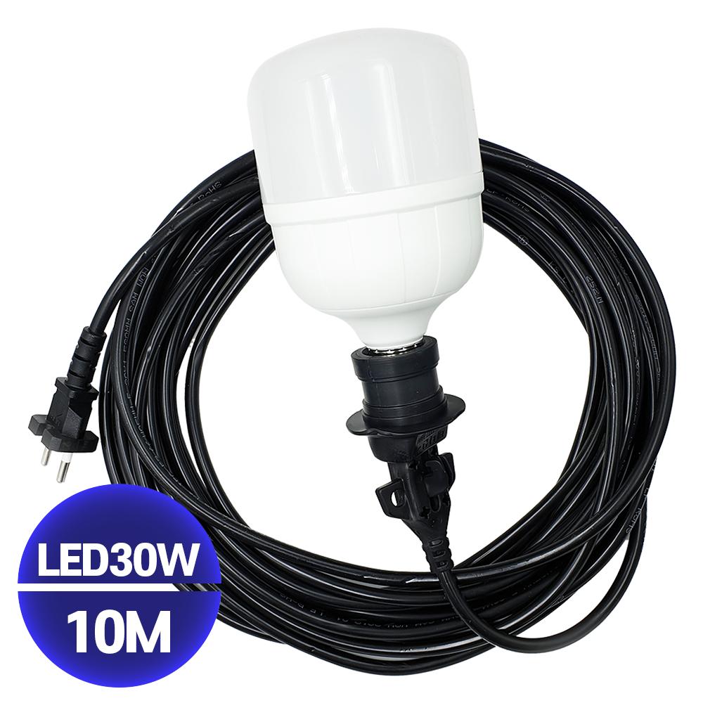 국산 LED 다용도작업등 30W 10M 캠핑랜턴, 1개