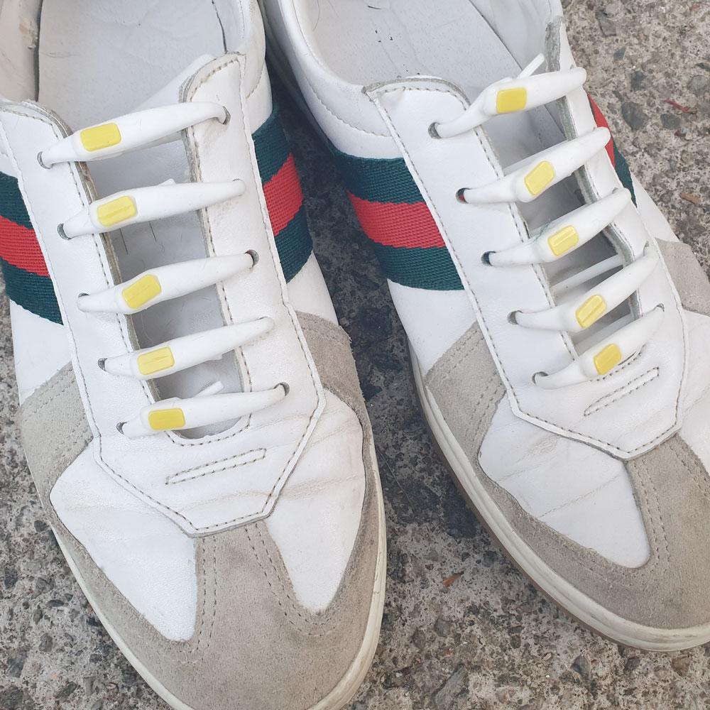 매듭없는 실리콘 운동화 등산화 짧은 늘어나는 안풀리는 어린이 신발끈 고정 정리 운동화끈 구두끈