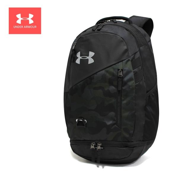언더아머 언더아머 UA 허슬 4.0 백팩 스포츠 가방 데저트샌드블랙 1342651-290, MISC