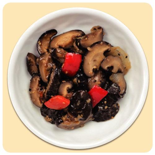 [집밥연구소] 단짠단짠 조림 볶음반찬 37종 모음전 표고버섯 볶음 100g, 1팩
