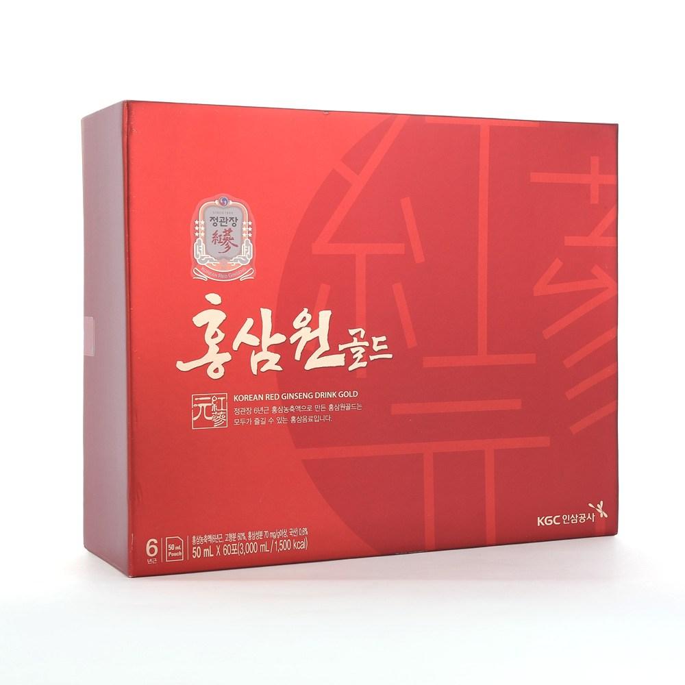 정관장 홍삼원골드 50mlX60포, 소