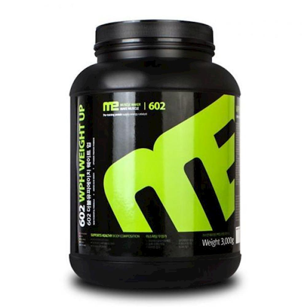 WPH 웨이트업 초코맛 3kg 마라톤 단백질 보충제 체중조절음료 머슬밀크 몬스터 프로틴 젤리, 1개, 상세페이지참조()