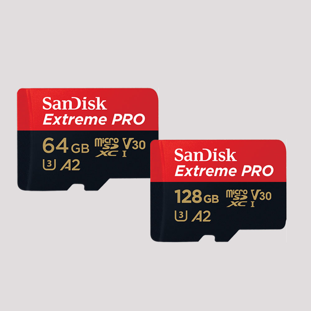 샌디스크 익스트림 프로 마이크로 SD SQXCY 64GB 128GB