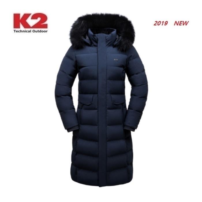 K2 수지 다운 구스다운 앨리스 롱 KWW19548 (N9) 네이비 다운패딩