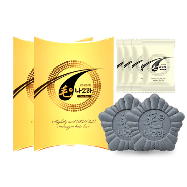 skinmagic 모나그라 hair bar 2P SET 탈모샴푸, 1개, 70g