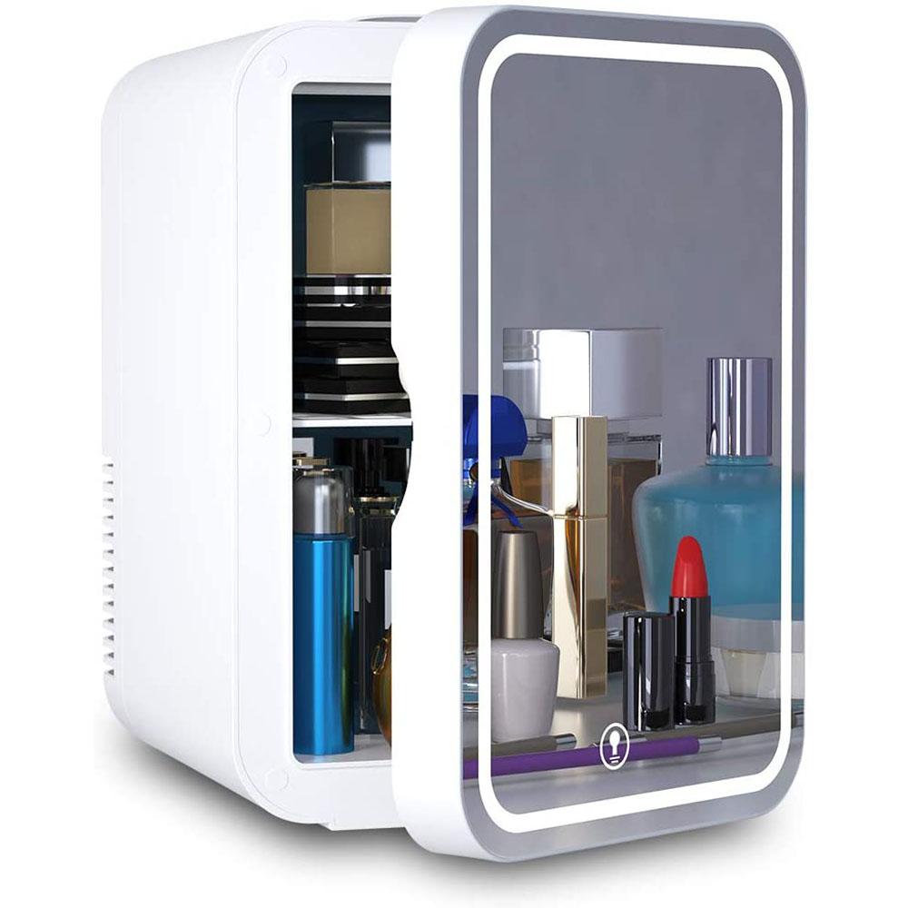 COOSEON LED 거울 원룸 소형 미니냉장고 화장품냉장고