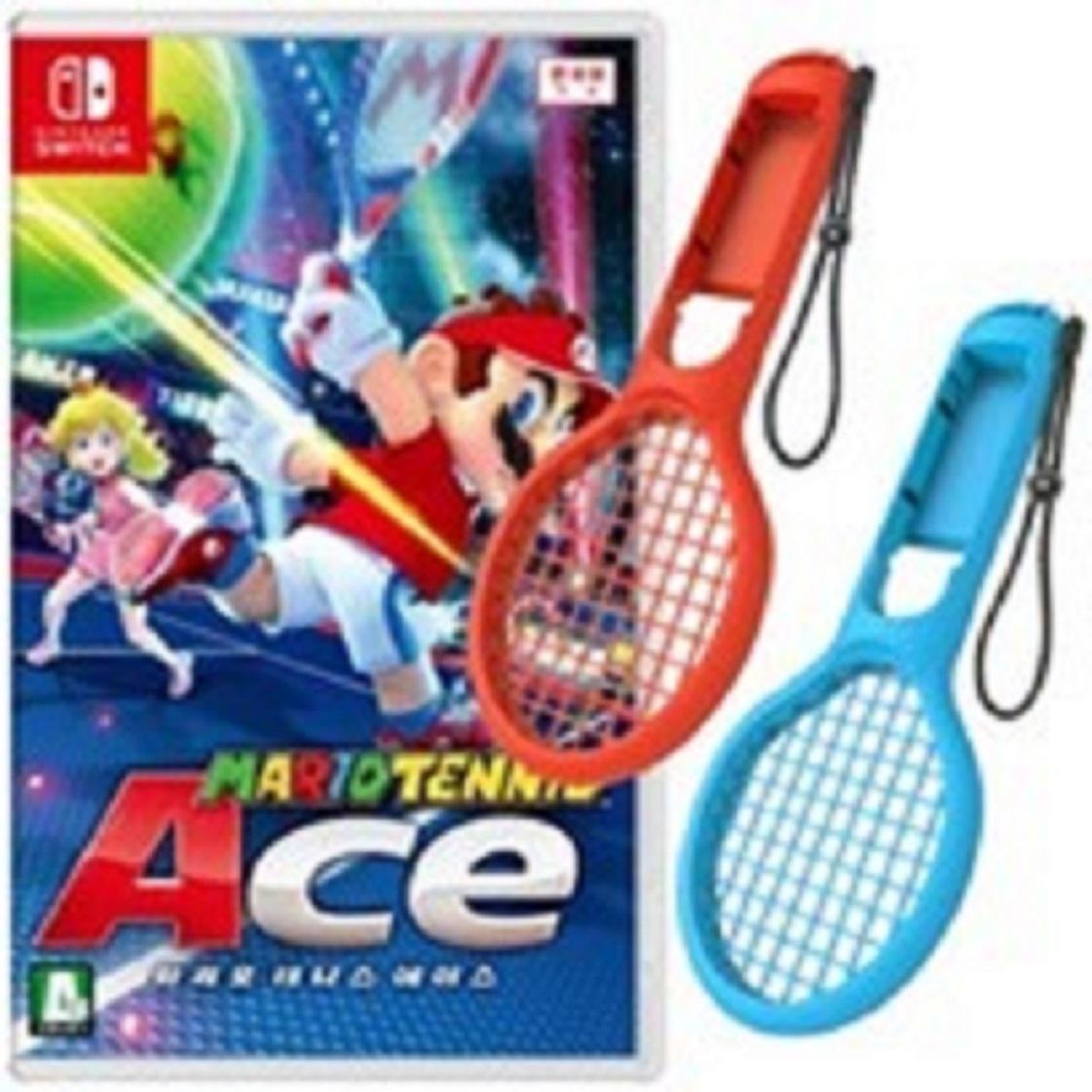 닌텐도 스위치 마리오 테니스 에이스 + 라켓 2개 포함 새제품-4-2111201789