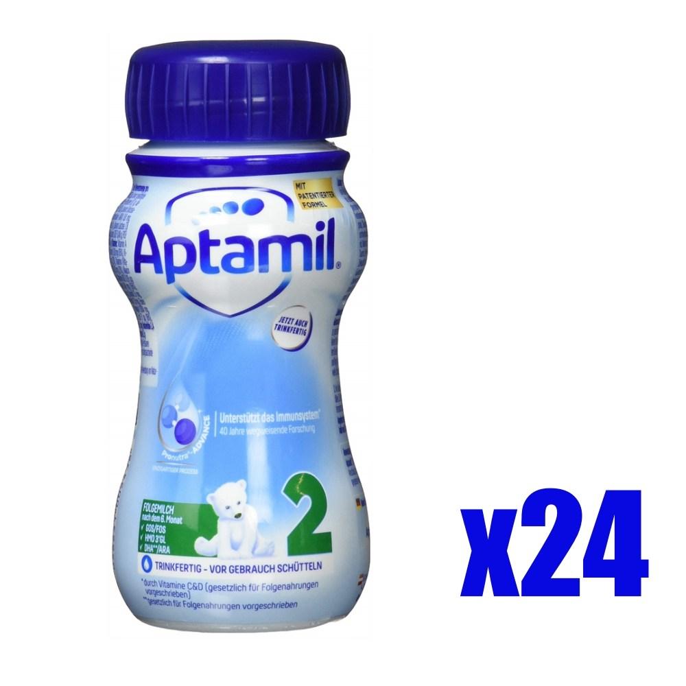 독일 압타밀 프로누트라 2단계 액상분유 200mlX24개, 단일상품