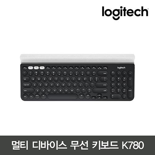 로지텍 K780 무선 블루투스 키보드, 블랙