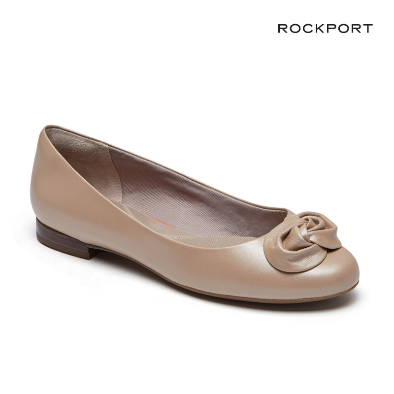 ROCKPORT [락포트] 여성화 TOTAL MOTION TAVIA ROSE BALLET 토탈모션 타비아 로즈 발렛 플랫슈즈 CH1016