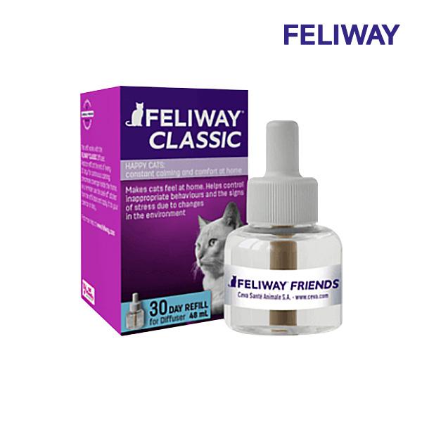 FELIWAY 펠리웨이 디퓨저 클래식 리필48ml, 1개 ⓘCVP04477ⓟ, 클래식 리필 48ml