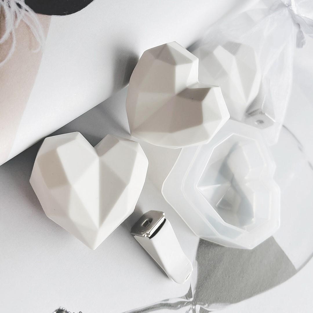 아로마 석고방향제 만들기 세트 DIY 2가지 향 재료 차량용 취미생활(3개분량)