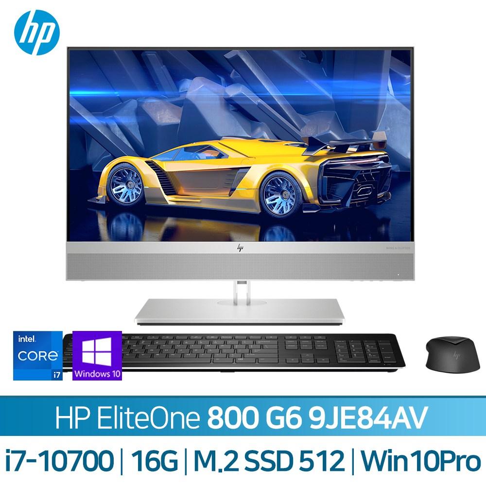 HP 엘리트원 800 G6 AIO 24 9JE84AV, 기본형, HP 엘리트원 800 G6 AIO 9JE84AV