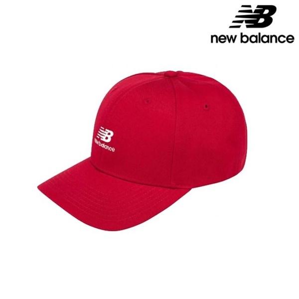 뉴발란스 NBGD9S0101 RD 베이직 로고캡 야구 모자, color/FF