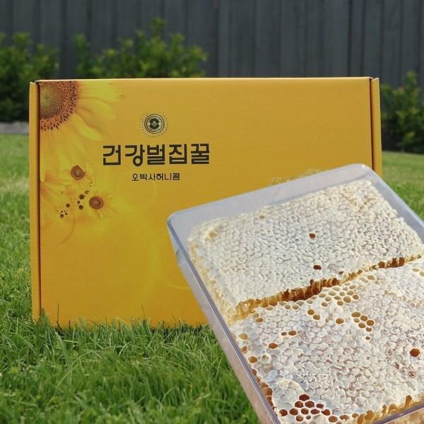 오박사허니콤 자연건강벌집꿀 2kg, 1개
