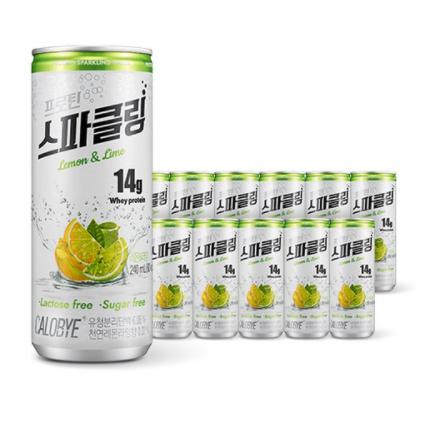 칼로바이 프로틴 스파클링 단백질 음료 분리유청 WPI 헬스보충제 12개입, 24개입, 240ml-4-5967218005