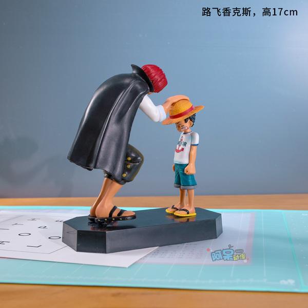 원피스 Luffy Soron Aislow 인형 피규어 선물 장식, 루피 생크스
